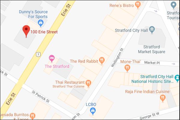 Stratford Map